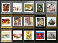 CANADA 1988-2002 #1203//#1945 Art, Paintings complete set 15 Mint NH