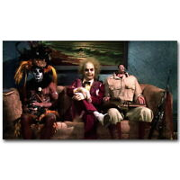 136046 BEETLEJUICE Tim Burton Movie Decor Wall Print Poster CA