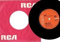 "DAVID BOWIE Rebel rebel/Queen bitch 7"" 45rpm 1973 AUSTRALIA EX"