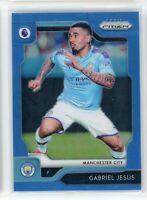 2019-20 Gabriel Jesus 195/199 Panini Prizm Blue Premier League