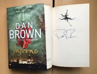 Inferno Robert Langdon Book 4 Dan Brown HB 2013 1st/1st Autographed SIGNED NEW