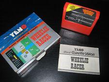 YENO Super Cassette Vision : Jeu n°08 - WHEELIE RACER  (Rare 1985)