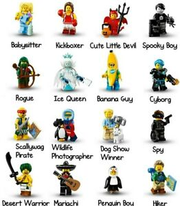 🔷 You PICK! LEGO Collectible Minifigure Series 16 Hiker Mariachi 71013 🔷