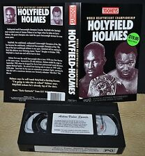 HOLYFIELD HOLMES - World Heavyweight Championship -           - VHS Video Tape -