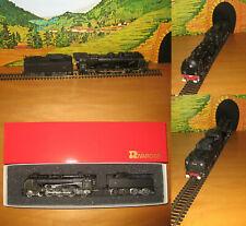 Rivarossi HO Locomotiva a vapore 2-3-1 Pacific 231 E Chapelon SNCF nera art 1336