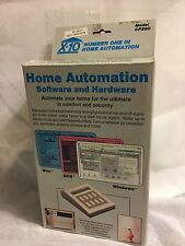 X 10 Home Automation System Interface With Software And Connecting Cable New