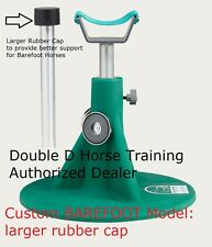 BAREFOOT HORSE HOOFJACK farrier stand, Hoof Jack includes DVD trimming authentic