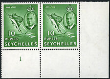 Mint Never Hinged/MNH Block Seychelles Stamps (Pre-1976)