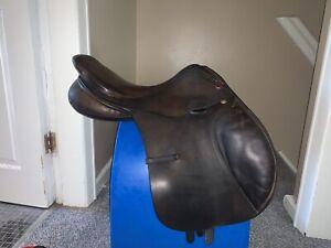 Albion Kontrol Jump Saddle Brown 17' M