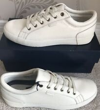 BNIB MENS POLO RALPH LAUREN ALDRIC II LEATHER SHOES/TRAINERS/SNEAKERS SIZE UK 8