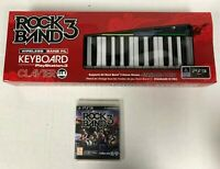 PlayStation 3 Rock Band 3 Wireless Keyboard Bundle - BRAND NEW SEALED