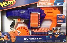 NERF N-strike Surgefire Elite Gun Blaster Rotating Drum 45 Darts E2592