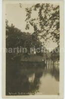 Behind Old Windsor Lock Real Photo Postcard, C068