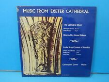 MUSIC FROM EXETER CATHEDRAL VINYL RECORD LIONEL DAKERS EXCATH 1