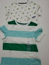 Lots of  2 NEW  Boys Toddler Old Navy T-Shirt Gap Tee Size S (5) multi color