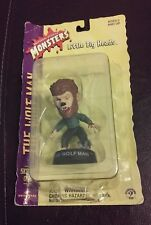 New 1998 Universal Studios Monsters The Wolf Man Little Big Heads Figure 3""