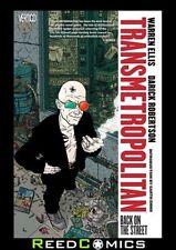 TRANSMETROPOLITAN VOLUME 1 BACK ON THE STREET GRAPHIC NOVEL New Paperback #1-6