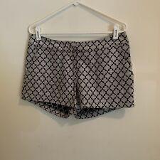 Kensie Juniors Short Shorts Size Medium Black Gray Combo New