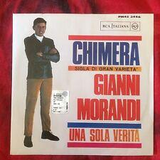 "GIANNI MORANDI CHIMERA Quei Favolosi Anni 60 promo 7"" 45 giri vinyl"