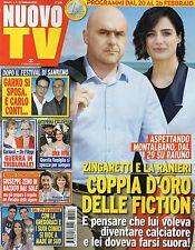 Nuovo Tv 2016 7#Luca Zingaretti & Luisa Ranieri,Barbora Bobulova,Fabio Volo,qqq