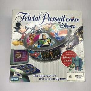 DISNEY TRIVIAL PURSUIT Board Game DVD Edition Parker Bros - Replacement Box Only