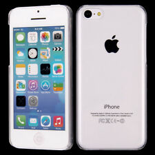 For iPhone 5C Ultra Thin Crystal Clear Transparent Hard Snap-On Skin Cover Case