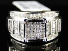 10K WHITE GOLD LADIES WOMENS DIAMOND ENGAGEMENT WEDDING BAND RING 1 CT
