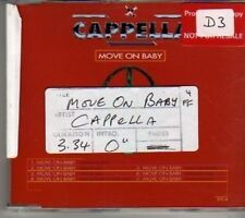 (BV770) Cappella, Move On Baby - 1994 CD