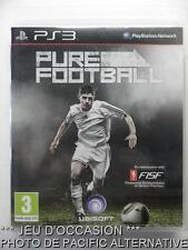 OCCASION: Jeu PURE FOOTBALL ps3 playstation 3 sony francais foot soccer game