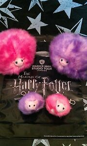 Warner Bros Harry Potter London Tour Pygmy Puff Plush Toy and Key Ring Exclusive