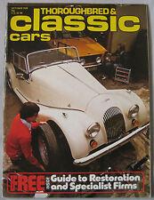 Classic Cars magazine 10/1978 featuring Porsche Carrera 6, Nash-Healey, Jaguar