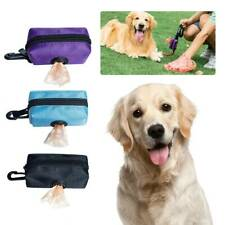 Poop Bag Dispenser Pet Dog Waste Garbage Case Poop Pick Up Bags Holder Dog Poo #