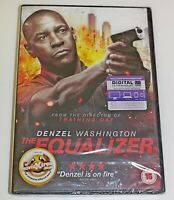 THE EQUALIZER DVD + UV CODE DENZEL WASHINGTON-BRAND NEW SEALED