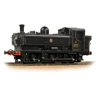 Bachmann 32-205A OO Gauge GWR 8750 Pannier Tank 8771 BR Lined Black (Early Emble