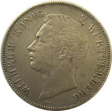 Württemberg Doppeltaler 1843 (3 1/2 Gulden) Wilhelm