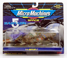 Babylon 5 Micro MachinesSpace Coll #4 Minbari flyer Narn Fighter B5 crew shuttle