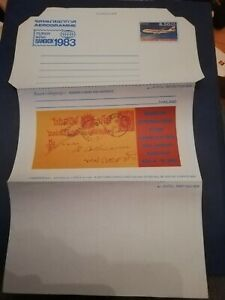 AEROGRAMME air letter THAILAND MINT, Unused Postal stationery cover AIRCRAFT