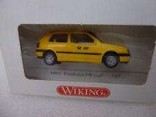 Wiking n gauge Postdienst-VW Golf 04901 yellow German postal van VAT included