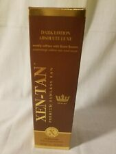 Xen-Tan Dark Lotion Absolute Luxe Premium Sunless Tan Ultra Dark 8oz NIB