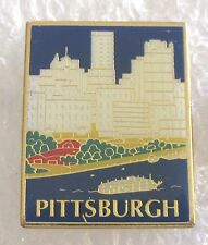 City of Pittsburgh, Pennsylvania Tourist Travel Souvenir Collector Pin-Skyline
