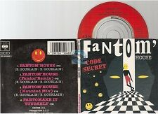 "CODE SECRET fantom' house CD SINGLE 8cm 3""inch"