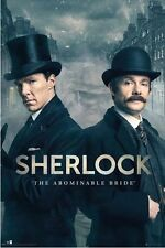 BBC ~ SHERLOCK ~ THE ABOMINABLE BRIDE ~ 24x36 TV POSTER ~ NEW/ROLLED!