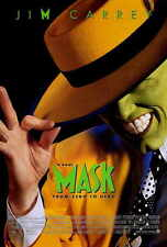 """THE MASK Movie Poster [Licensed-NEW-USA] 27x40"""" Theater Size Jim Carrey"""
