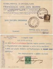 TREVISO - STABILIMENTO D'ORTICOLTURA FRANCESCO VAN DEN BORRE 1932