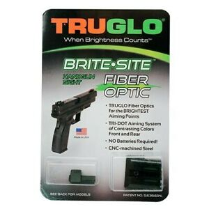 Truglo TG131MP Brite-Site Fiber Optic Sight Set For Smith & Wesson M&P SD9 SD40