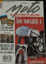 MOTO LEGENDE N°19 BENELLI 750 SEI HONDA CBX 1000 SEMEC 750 C8 & L7 NOUGIER 500
