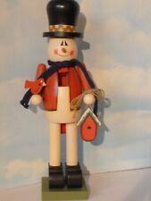 Valentine Snowman Nutcracker With Birdhouse And Robin - 15�