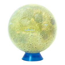 "BLUE TERRA Watanabe Moon Globe Kaguya 15 1509 15cm/5.9"" 1/23,000,000 Japan F/S"