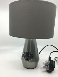 New Harley Davidson table lamp touch activated motorbike gas unique item