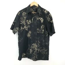 Axcess Vintage Men's Hawaiian Shirt - Medium M - Short Sleeve - Floral